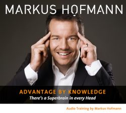 Advantage by Knowledge - Markus Hofmann